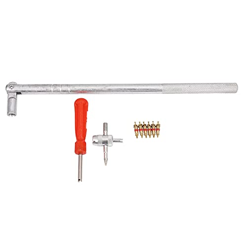 Nirmon Herramienta De Eliminación De Reparación De Cambiador De Neumáticos De Instalación del Extractor De Vástago De Válvula De Coche