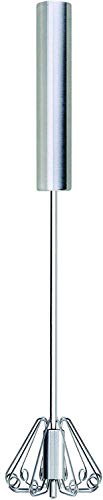 Cooks Innovations Push-Down Zip Whisk 14 Stainless Steel Rotary Whisk - Easy to Use