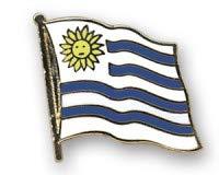 Uruguay Flaggen Pin Fahnen Pin Flaggenpin