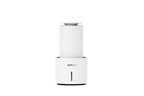 PURIPOT Personal P1+ Portable Air Purifier for Bedroom, Office with VOC Sensor, Premium Stylish Air Purifiers, HEPA Filters Upgrade Version, Blue Light PCO, Permanent Use, CES 2020 Innovation Award Winner from Las Vegas
