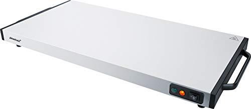 Steba Warmhalteplatte/Wärmespeicherplatte WP 130, Warmhaltefläche 60 x 30 cm, sehr kurze Aufheizzeit von max. 10 Min., auch mobil (stromlos) einsetzbar, mindestens 60 Min. Wärmeabgabe