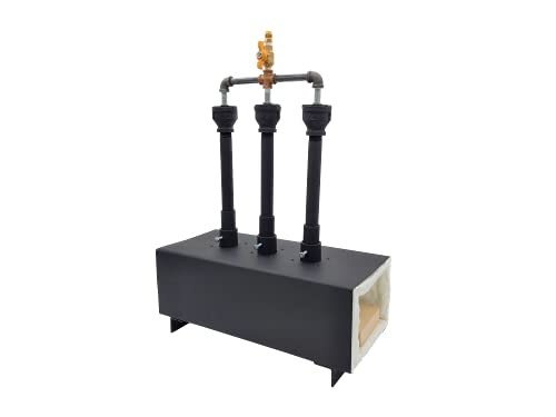 Propane Burner Propane Forge Triple Burner - Portable Blacksmith Forge - Gas Forge for Making Knife...