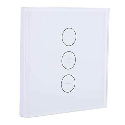 Interruptor De Atenuación Inteligente, Control Táctil Interruptor De Atenuación Inteligente APLICACIÓN Interruptor De Atenuación De Control Remoto Interruptor De Atenuación De Control De(blanco)