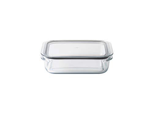 ライクイット (like-it) キッチン収納 調理ができる 保存容器 L クリア FC-003 容量1200ml 冷凍保存可 食器洗い乾燥機可