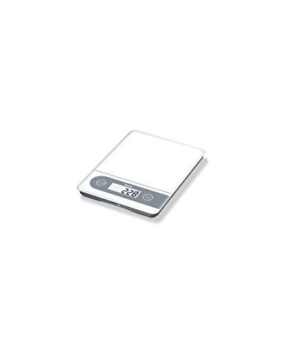 Beurer KS59 XXL Báscula electrónica de cocina Gris, Color blanco
