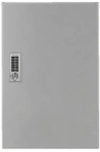 神栄ホームクリエイト(Shinyei Home Create) 郵便受箱 宅配ボックス テンキー式 SK-CBX-M01R-SL シルバー 本体: 奥行36cm 本体: 高さ36cm 本体: 幅54cm 捺印付