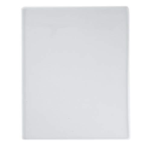 HEALLILY Harz-Tablett, Untersetzer, Kunstharz, Silikonform, Silikonharz, Schalen, Epoxidharz, Form für die Herstellung von Tablett, Tischmatte, Notizbuch, Abdeckung, Schreibtafel