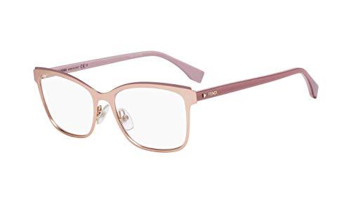 FENDI FF 0277 Gafas, EYR, 54 para Mujer