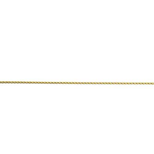 MAG - ketting van 18 karaat goud Bilbao 50 cm lang 2 mm breed