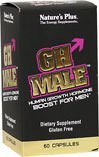 NaturesPlus GH Male (3 Pack) - 60 Vegetarian Capsules - Men's Strength, Performance & Endurance Supplement - Safely Boosts Human Growth Hormone (HGH) - Gluten-Free - 90 Total Servings