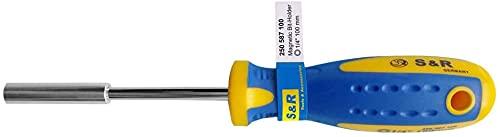 S&R Soporte para Puntas de Destornillador - Portapuntas, 210 mm, Magnético