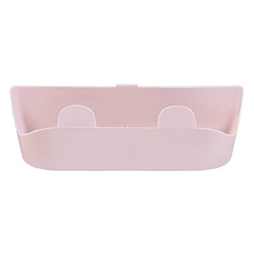 LJKD Estante de Zapatillas de baño para Colgar en el Inodoro, Estante para Zapatos, Almacenamiento de plástico para el hogar, 24,6 cm * 6,4 cm * 7,4 cm,Rosado