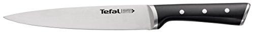 Tefal Ingenio Ice Force K23207 Fleisch- und Schinkenmesser | 20cm | Handschutz | Edelstahl/schwarz