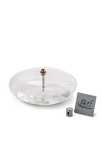 Peri GLASS - 1210 Lampe à huile galet en verre GM 18 cm
