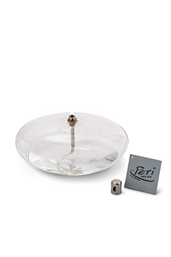 Peri GLASS - 1210 - Lámpara de aceite de piedra, cristal GM, 18 cm
