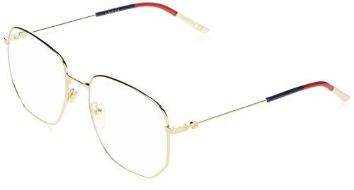 Gucci Brillengestelle GG0396O-002-56 Rechteckig Brillengestelle 56, Gold