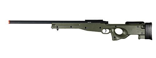 AGM L96 Bolt Action Spring Sniper Airsoft Rifle Gun FPS 465 (Green)