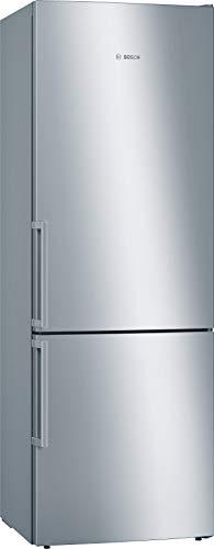 Bosch KGE498ICP Serie 8 Freistehende XXL-Kühl-Gefrier-Kombination / A+++ / 201 x 70 cm / 190 kWh/Jahr / Inox-antifingerprint / 302 L Kühlteil / 111 L Gefrierteil / LowFrost / VitaFresh