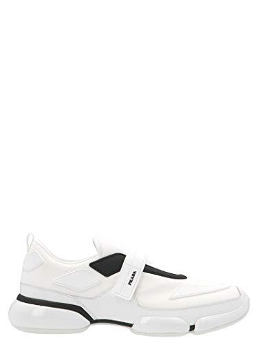 Luxury Fashion | Prada Heren 2OG0662ODJF0009 Wit Polyamide Slip On Sneakers | Herfst-winter 19
