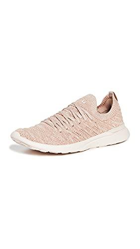 APL: Athletic Propulsion Labs Women's Techloom Wave Sneakers, Warm Silk/Almond/Caramel, Tan, 8.5 Medium US