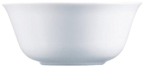 Luminarc G0570 Saladier 24 cm-Everyday, Opale-Verre trempé, Blanc
