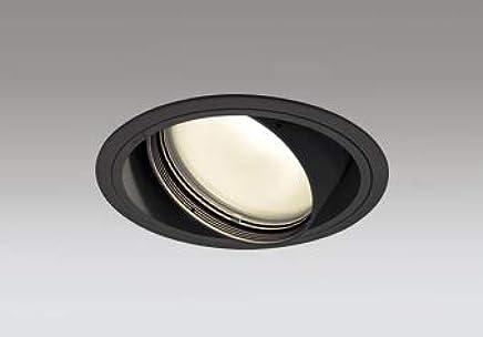 ODELIC LED高彩色ユニバーサルダウンライト CDM-T70W相当 ブラック 52° 埋込穴Φ150mm 電球色 3000K M形 一般型 専用調光器対応 XD401369H (電源?調光器?信号線別売)