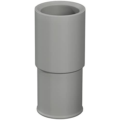 Adaptador de manguera para lavadora de 21 mm de diámetro a 19 mm de diámetro, pieza de conexión para manguera de agua, lavadora, manguera de desagüe, extensión de conexión de lavadora