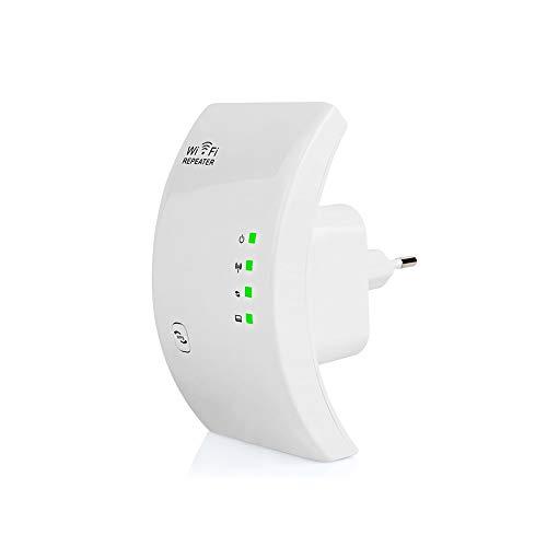 XMAGG® Aigital WiFi Répéteur, Répétiteur WiFi 300Mbps N 802.11 AP sans Fil Amplificateur de Signal WiFi Range Extender Booster 2.4GHz