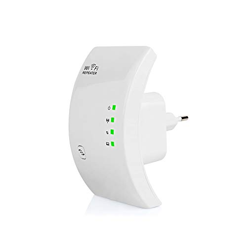 UnXMAGG® Repetidor WiFi Extensor de Red WiFi, WLAN Amplificador Wireless Ap/Repetidor Modos 2.4GHz 300Mbps 802.11n/b/g-LAN Ethernet