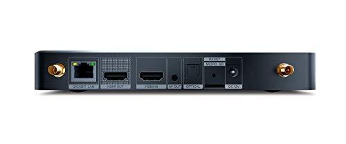 Dune HD Pro 4K II | ULTRA HD | HDR10+ | 3D | DLNA | Streaming Media Player und Android Smart TV Box | RTD1619 | HD-Audio, HDMI, WiFi 2.4GHz - 5GHz, MKV, H.265, 4Kp60, 4 GB / 32 GB