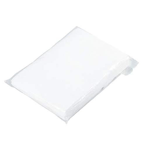 Heallily Biancheria da letto usa e getta, 10 pezzi, per massaggi, viso, accessori per spa (bianco)