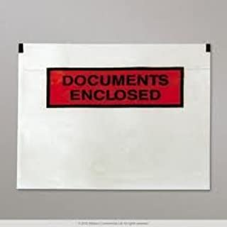 50 x Document Enclosed Envalope Wallets Size A6 165mm x 122mm Printed