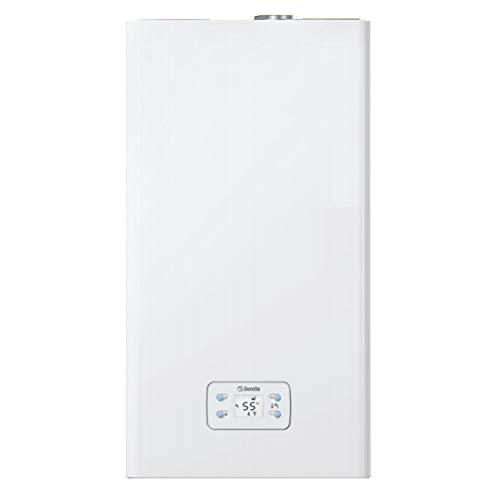 BERETTA 20143036 Calentador de agua IDRABAGNO LX 13 GPL cámara estanca LOW NOX, Color blanco