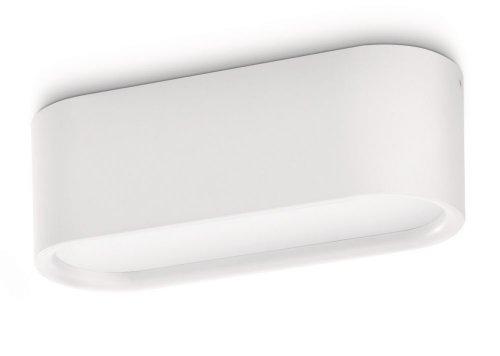 PHILIPS Ecomoods Energiespar- Deckenleuchte  mit 11W, inklusive Leuchtmittel, 1-flammig 306593116