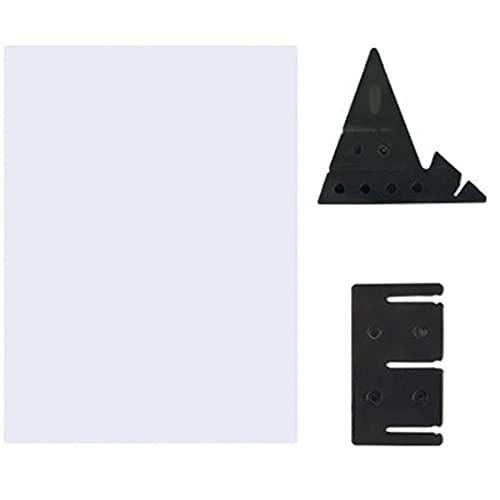 Tablero de trazado óptico Pintura Copiar Junta translúcido Plotter dibujar y dibujar la lente imagen Reflexión para principiantes