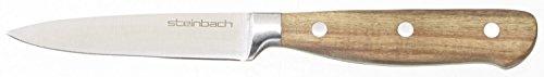 Original Steinbach Schälmesser Rimaro | Klinge 9 cm | Edelstahl rostfrei | Griff aus Akazienholz | Messer | Küchenmesser
