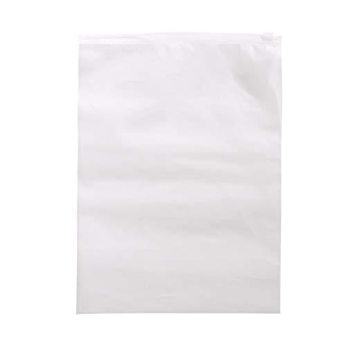 Easyeeasy Bolsa de almacenamiento para el hogar de alta capacidad impermeable EVA portátil organizador de ropa bolsa de almacenamiento transparente, 20 * 28 cm