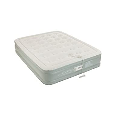 AeroBed Queen Size Premier Double High With Built-In Pump