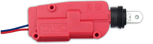 P.O.P. LOCKS RA 12V Red Flat Actuator for Power Locking Applications