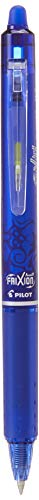 Pilot FriXion Clicker Druck-Tintenroller, radierbar, 0,7-mm-Spitze, Blau, 12 Stück