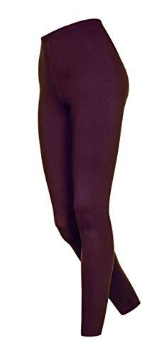 DeDavide Lot de 2 Pantalons en Coton pour Fitness et Yoga - Violet - W46