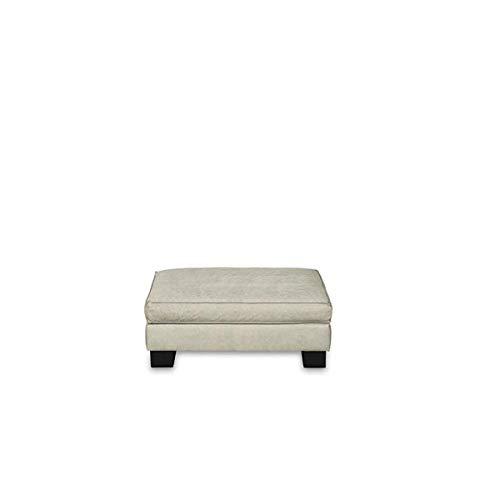 Lambert Marvin Hocker 80 Weißpolster inkl. 1 Sitzpolster 2 Kufen pulverbeschichtet, schwarz gebeizt matt 81 x 75 SH 42 cm 57905