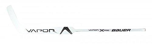 Bauer Vapor X700 Goalie Composite Schläger - Senior Links 25', Farbe:weiss/schwarz;Biegung:P31