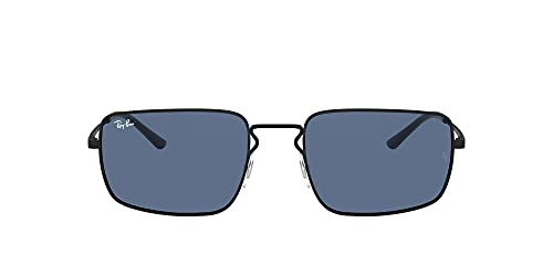 Ray-Ban Rb3669f Gafas de sol rectangulares de ajuste asiático