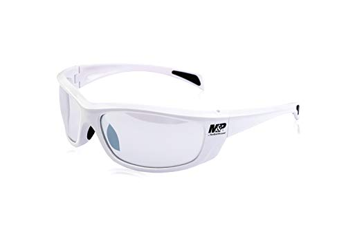 M&P 110-174 Gafa Mod Whitehawk Lente Color Transparentes, Blanco, Talla Única