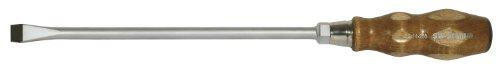 SW-Stahl destornillador con mango de madera 6-Kant resistente a 6-Kant espada 250 x 14 mm, 30906L