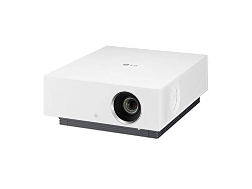LG Beamer Forte HU810PW bis 762 cm (300 Zoll) CineBeam Laser 4K Projektor (2700 Lumen, HDR10, webOS 5.0), weiß