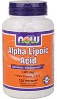 NOW Foods - Alpha Lipoic Acid 100 mg 120 vcaps by NOW Foods