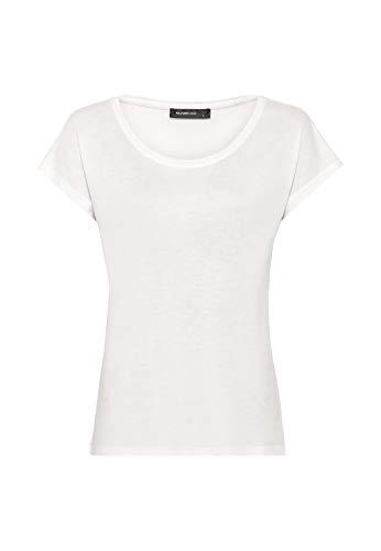 HALLHUBER Weit geschnittenes Basic-Shirt weit geschnitten Offwhite, L