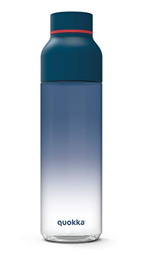 Quokka Ice - Navy 570 ML| Botella de Agua Reutilizable de Tritan - Libre de BPA | Amplia Apertura para Rellenar y con tapón antigoteo